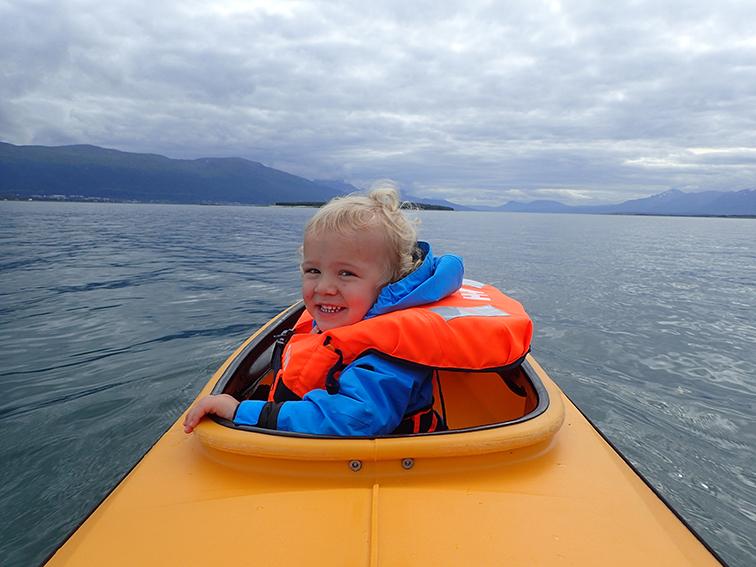 Sea kayaking Tromso